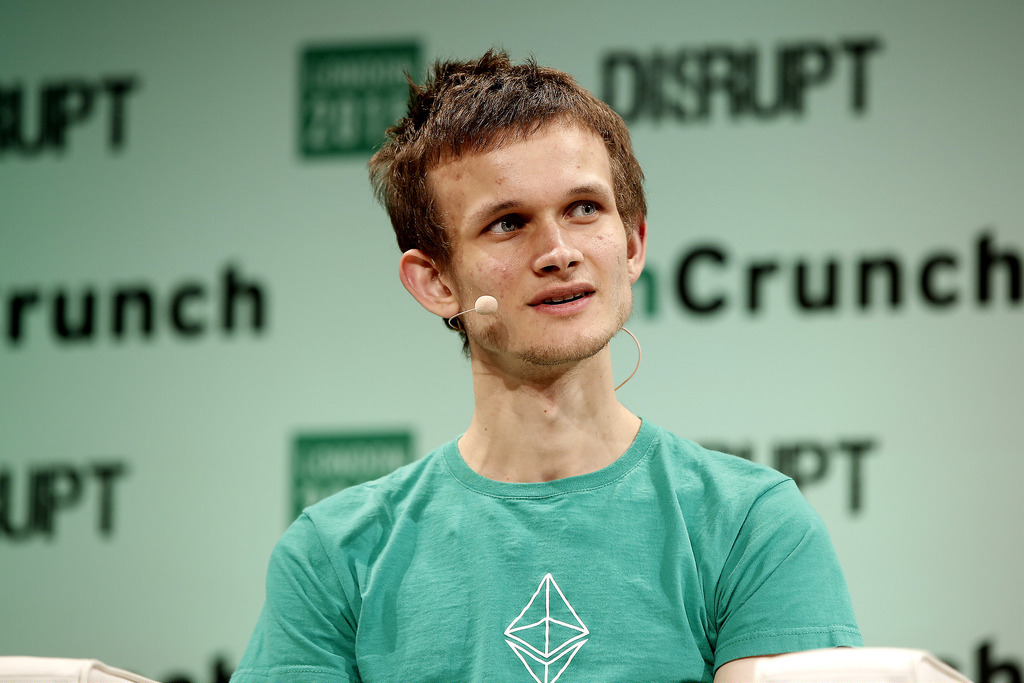 Photo Vitalik Buterin