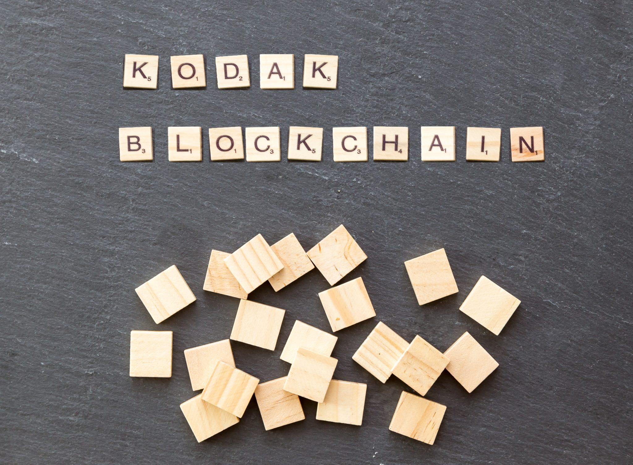 ICO Blockchain Kodak