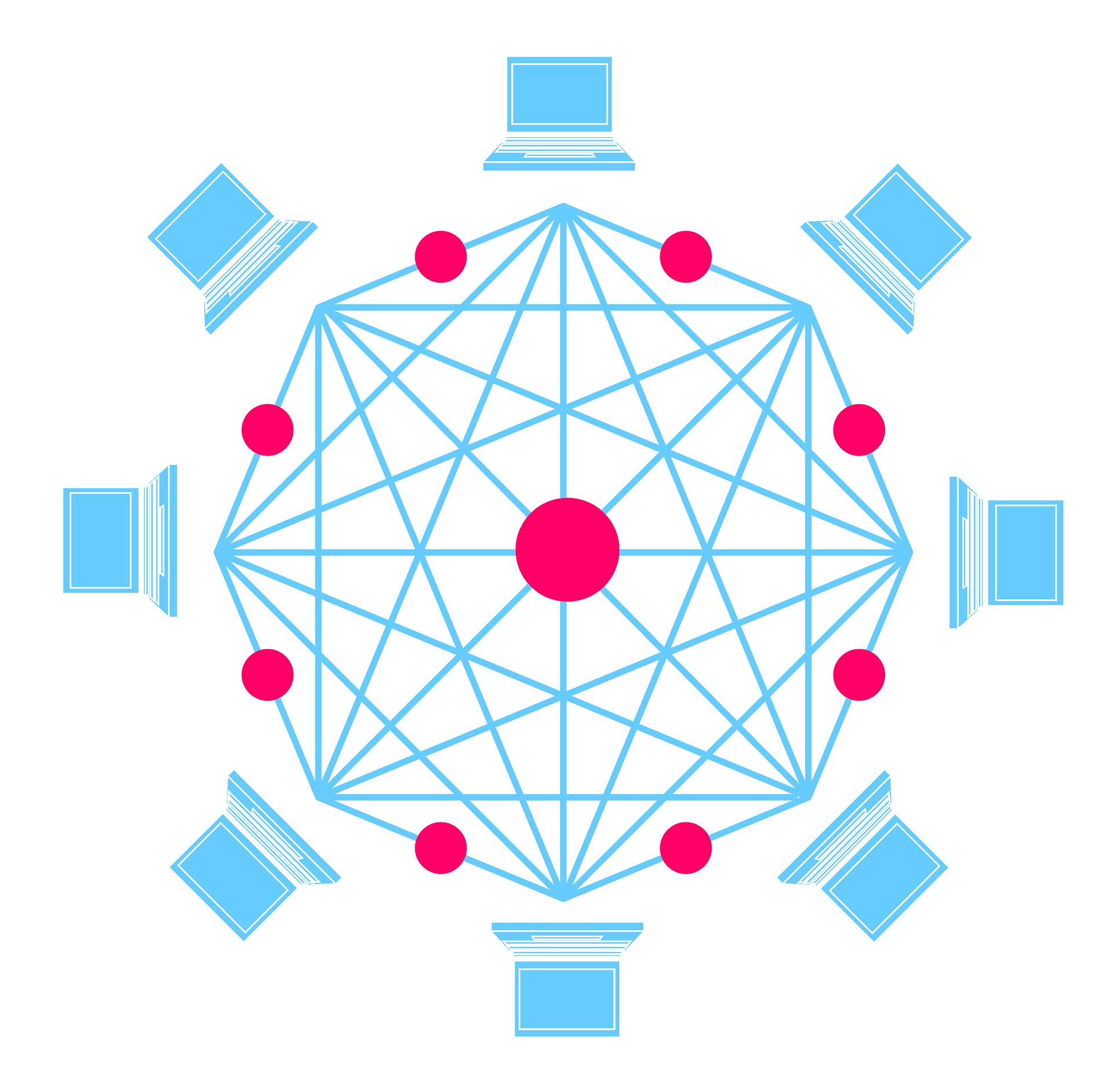 réseau blockchain