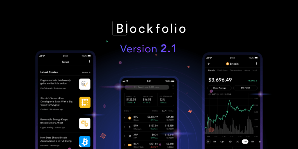 blockfolio screenshot